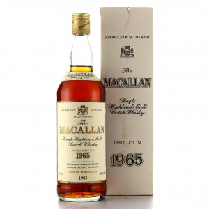 Macallan 1965 Special Selection 17 Year Old