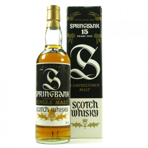 Springbank 15 Year Old 1990s