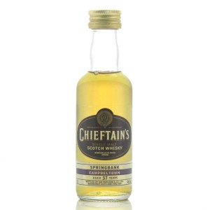 Springbank 37 Year Old Chieftain's Miniature 5cl