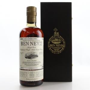 Ben Nevis 2002 Single Cask 10 Year Old #334