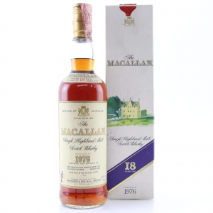 Macallan 1976 18 Year Old / Giovinetti Import
