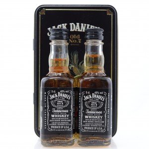 Jack Daniel's 2 x 5cl Miniature in Presentation Tin