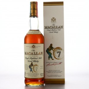 Macallan 7 Year Old Armando Giovinetti Special Selection early 2000s