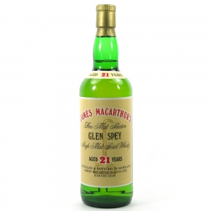 Glen Spey 21 Year Old Macarthur's