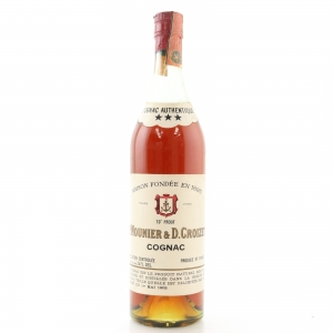 P. Mounier & D. Croizet Three Star Cognac 1970s