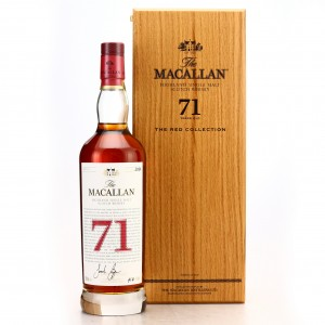 Macallan 71 Year Old The Red Collection