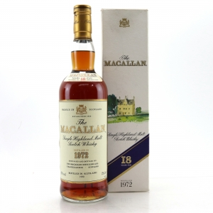 Macallan 1972 18 Year Old