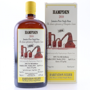 Hampden 2010 Habitation Velier 6 Year Old Jamaican Rum / LROK