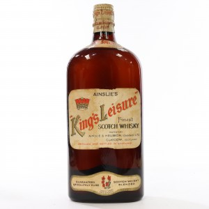 Ainslie's King's Leisure Finest Scotch Whisky circa 1950s/1960s