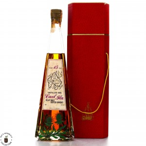 Caol Ila 1969 Gordon and MacPhail 15 Year Old Decanter / Co. Pinerolo Import