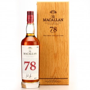Macallan 78 Year Old The Red Collection
