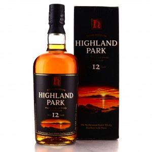 Highland Park 12 Year Old early 2000s