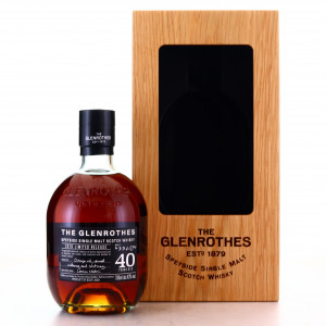 Glenrothes 40 Year Old 2019 Limited Release