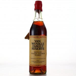 Van Winkle 1970 Family Reserve Bourbon / Stitzel-Weller