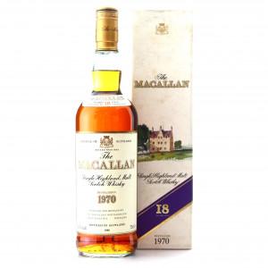 Macallan 1970 18 Year Old