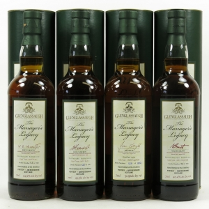 Glenglassaugh Manager's Legacy Collection 4 x 70cl