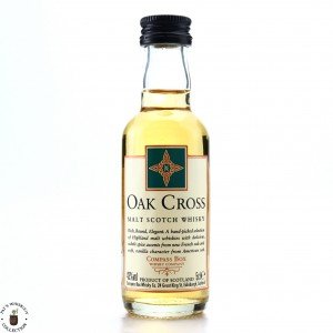 Compass Box Oak Cross 2010 Miniature