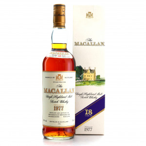 Macallan 1977 18 Year Old 75cl / Duty Free