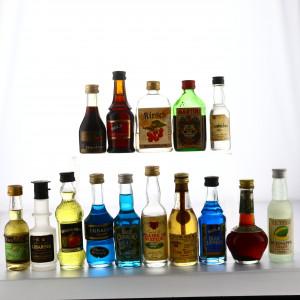 Liqueur Miniatures x 15