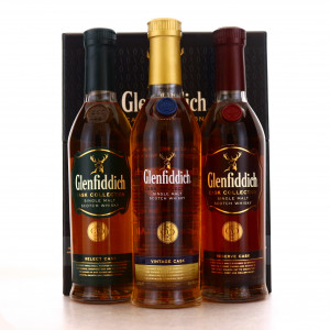 Glenfiddich Cask Collection 3 x 20cl