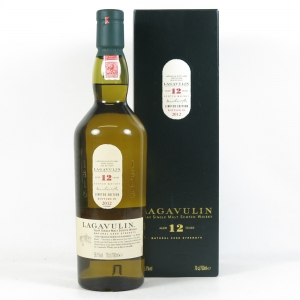 Lagavulin 12 Year Old 2012 Release Front