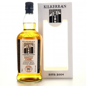 Kilkerran 2004 Single Bourbon Cask 15 Year Old / 15th Anniversary