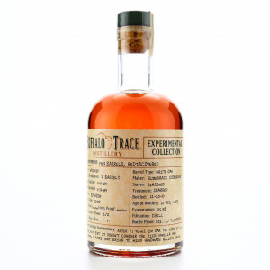 Buffalo Trace 1989 Experimental Collection 21 Year Old 37.5cl / Rediscovered Barrels