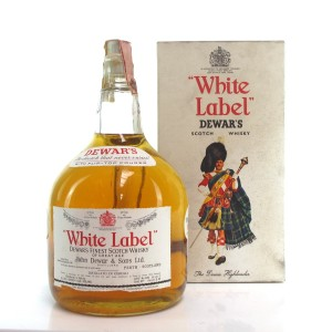 Dewar's White Label 2 Litre 1960s