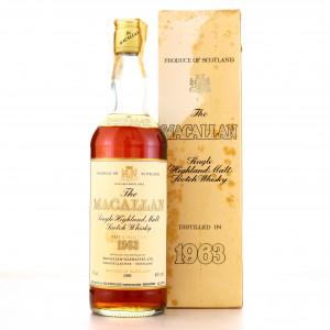 Macallan 1963 Special Selection