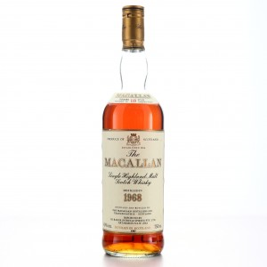 Macallan 1968 18 Year Old / I.H Baker Import