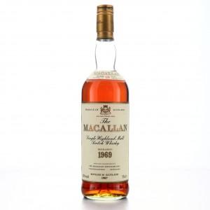 Macallan 1969 18 Year Old