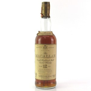 Macallan 12 Year Old 1980s / Giovinetti Import