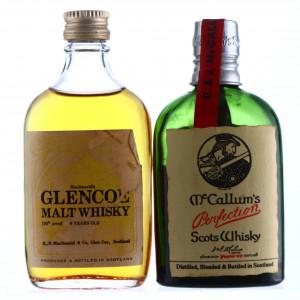 McCallum's & Glencoe Miniature x 2