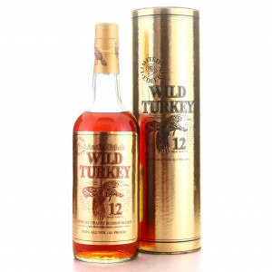 Wild Turkey 12 Year Old 101 Proof Limited Edition 1991