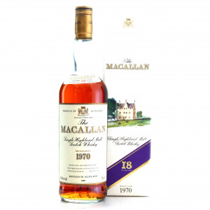 Macallan 1970 18 Year Old / Jumac Import