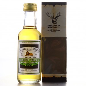 Glenlivet 15 Year Old Gordon and MacPhail Miniature 5cl