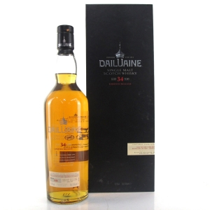 Dailuaine 1980 34 Year Old 2015 Release