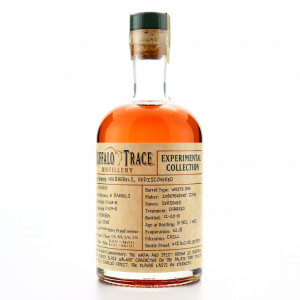 Buffalo Trace 1991 Experimental Collection 19 Year Old 37.5cl / Rediscovered Barrels