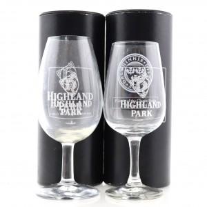 Highland Park Glasses x 2