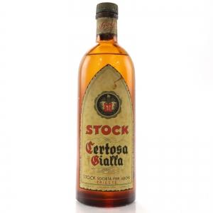 Stock Certosa Gialla Liqueur 1950s