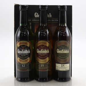 Glenfiddich Tasting Collection 3 x 20cl