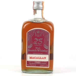 Macallan 25 Year Old Silver Jubilee Gordon and MacPhail