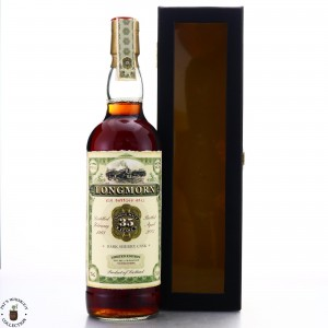 Longmorn 1968 Jack Wiebers 35 Year Old / Old Train Line