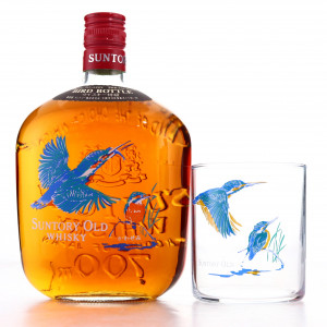 Suntory Old Whisky Bird Bottle / with Glass