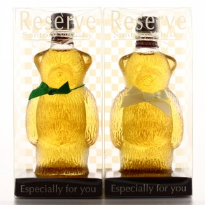 Suntory Whisky Bear Miniature 2 x 8cl