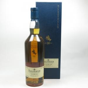 Talisker 30 Year Old 2009 Release Front