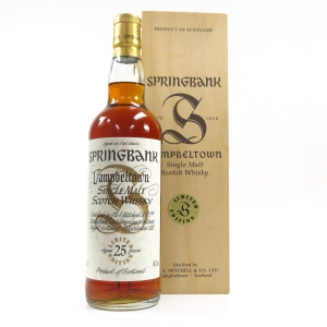 Springbank 25 Year Old Millennium Limited Edition