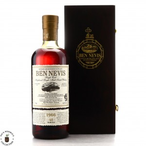 Ben Nevis 1966 Single Sherry Cask 48 Year Old #3644 / Alambic Classique