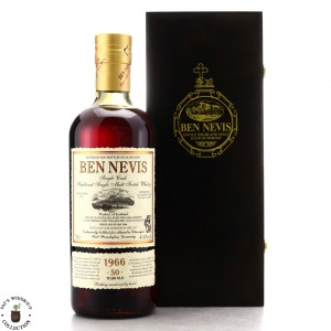 Ben Nevis 1966 Single Calvados Cask Finish 50 Year Old #3645 / Alambic Classique