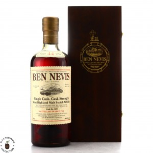Ben Nevis 1966 Single Sherry Cask 44 Year Old #3654 / Alambic Classique